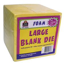 Large Yellow Foam Blank Die