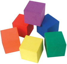 Foam Color Cubes