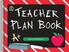 Chalkboard Teacher Lesson Plan Book
