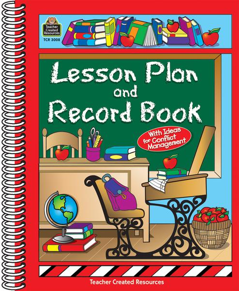 Classroom Theme Lesson Plan and Record Book