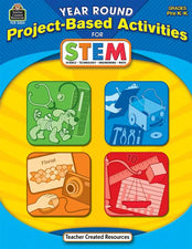 Year Round Project-Based Activities Book for STEM PreK-K