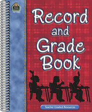 Plaid Record & Grade Book