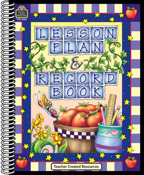 Apple Themed Lesson Plan and Record Book