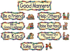 Good Manners Mini Bulletin Board