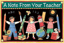A Note From Your Teacher Postcards from Susan Winget