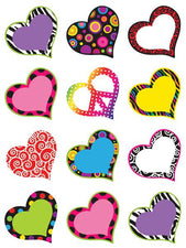Fancy Hearts Mini Accents