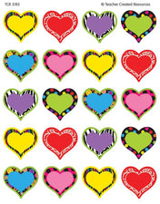 Fancy Heart Stickers