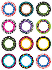 Fancy Circles Mini Accents