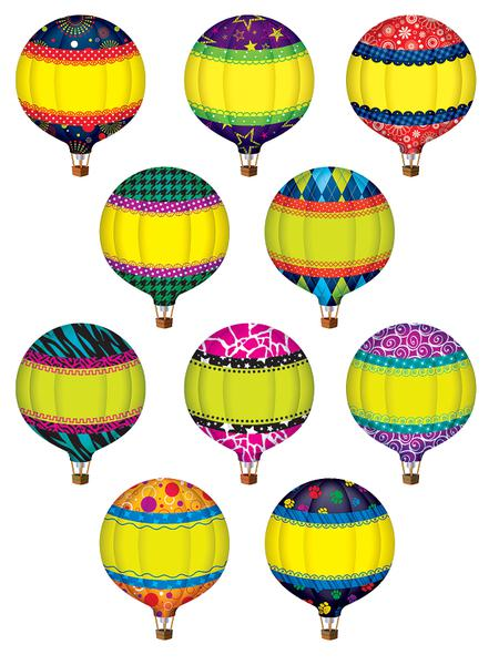 Hot Air Balloons Accents Tcr5295 Supplyme