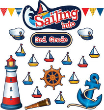 Sailing Into...Bulletin Board Set