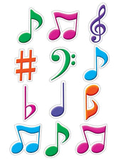 Musical Notes Mini Accents