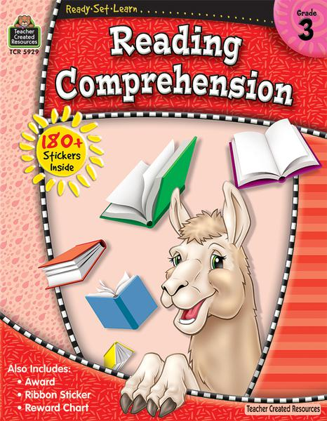 Teacher Created Resources Ready-Set-Learn: Reading Comprehension Activity Book, Grade 3