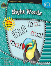 Ready-Set-Learn: Sight Words Grade K-1