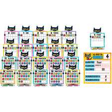 Pete the Cat® Numbers 0-20 Bulletin Board