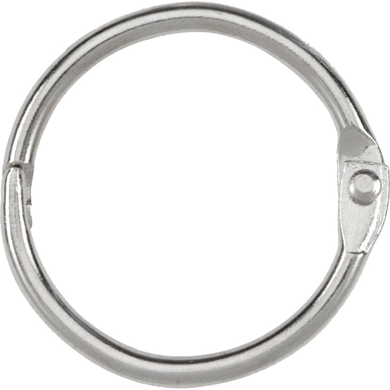 "1"" Binder Rings, 6 Pack"