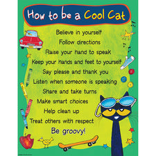 Pete the Cat® How To Be A Cool Cat Chart
