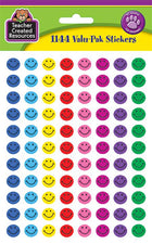 Happy Face Mini Stickers Valu-Pak