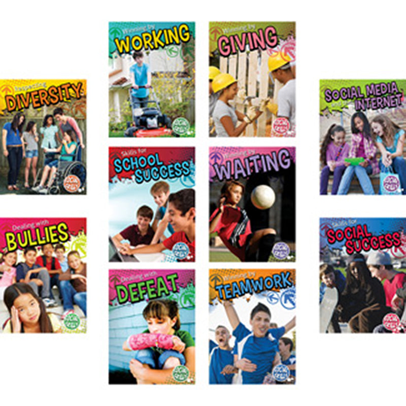 Social Skills 10 Book Set for Grades 3-5