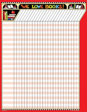 Mary Engelbreit We Love Books Incentive Chart