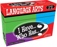 I Have, Who Has Language Arts Game Grade 2-3