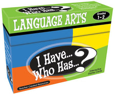 I Have, Who Has Language Arts Game Grade 1-2