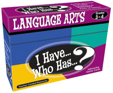 I Have, Who Has Language Arts Game Grade 3-4