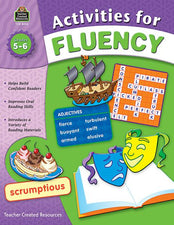 Teacher Created Resources Activities for Fluency Activity Book, Grades 5-6