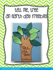 """Tell Me, Tree"" Earth Day FREEbie"