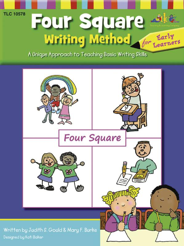 Four Square Writing Method Early Learning