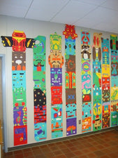 Totem Poles - Art Project for Upper Elementary