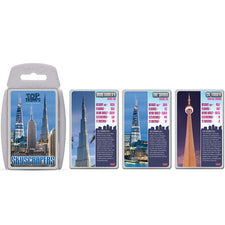 Top Trumps: Skyscrapers Cards