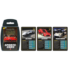 Top Trumps: Sports Cars Cards