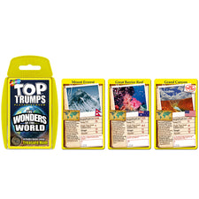Top Trumps: Wonders of the World Cards