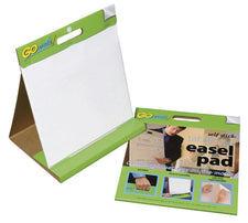 "GoWrite!® Self-Stick Table Top Easel Pads, 16"" x 15"""