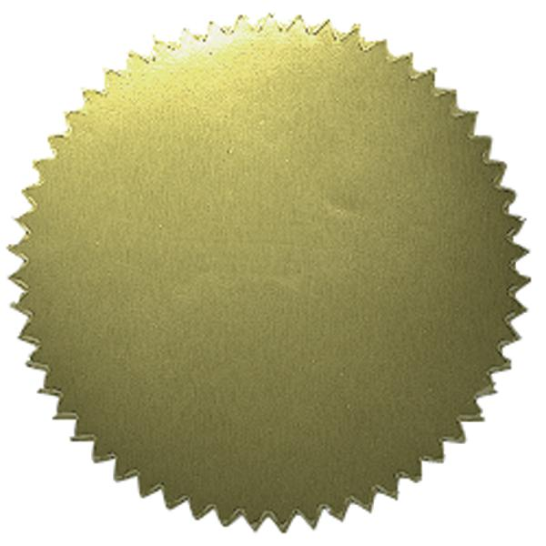 Gold Stickers - Blank