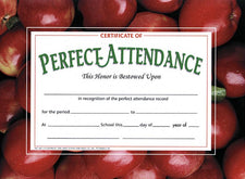 Perfect Attendance 1