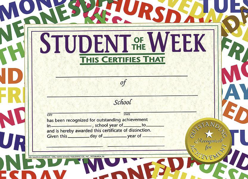 Student of The Week 2