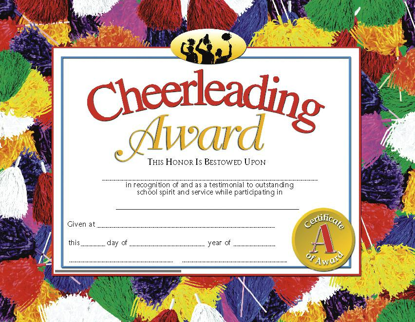Cheerleading Award