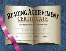 Hayes School Publishing Reading Achievement Certificates