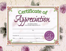 Certificate of Appreciation 2