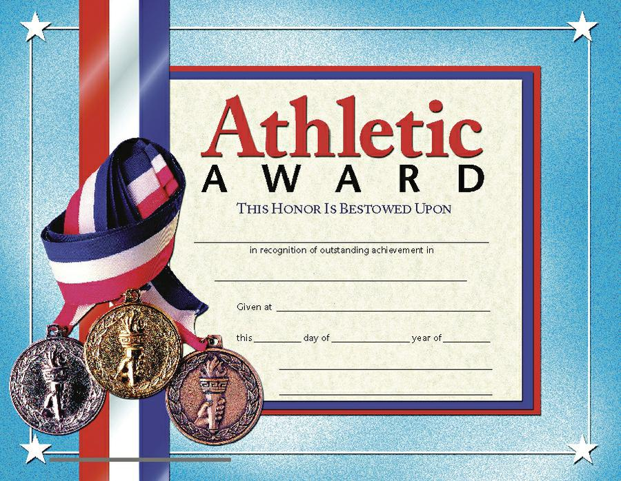 Athletic Award 1