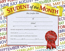 Student of the Month 1