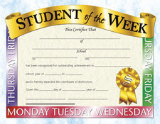 Student of the Week 1