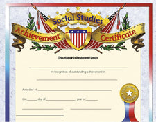 Social Studies Achievement 1