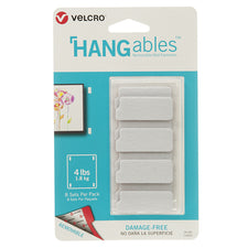 "VELCRO® Brand HANGables™ Removable Wall Fasteners, 1-3/4"" x 3/4"" (8 Count)"