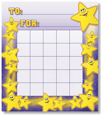 Smiley Stars Mini Incentive Chart
