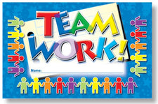 Teamwork Punch Cards