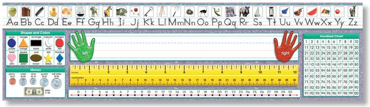 Primary - Traditional Manuscript Desk Plates