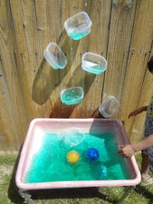 Learning Through Play - Summertime Water Wall