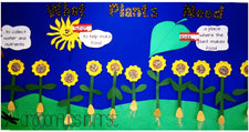 """What Plants Need"" Bulletin Board Idea for Spring"